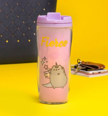 Pusheen Fierce Travel Mug
