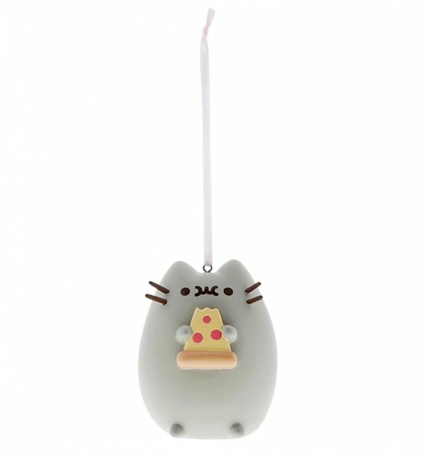 Pusheen I Love Pizza Hanging Ornament