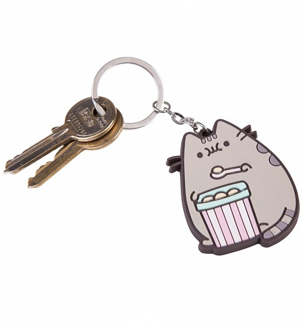 Pusheen Ice Cream Keyring
