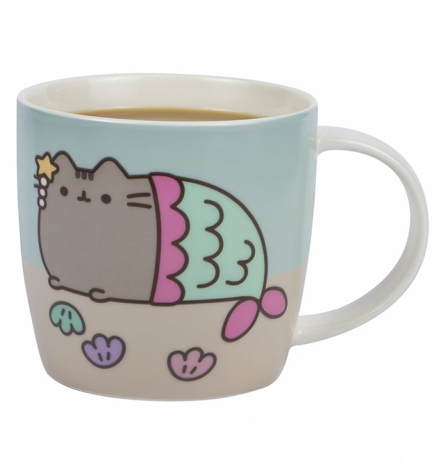 Pusheen Mermaid Colour Changing Mug