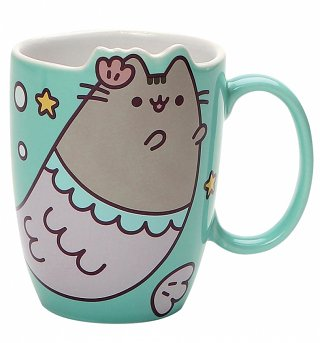 Pusheen Mermaid Shaped Mug