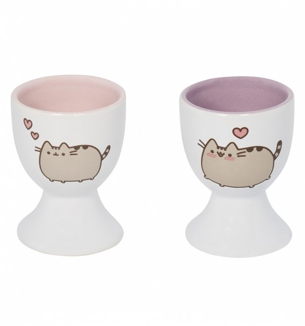 Pusheen Set Of Two Egg Cups