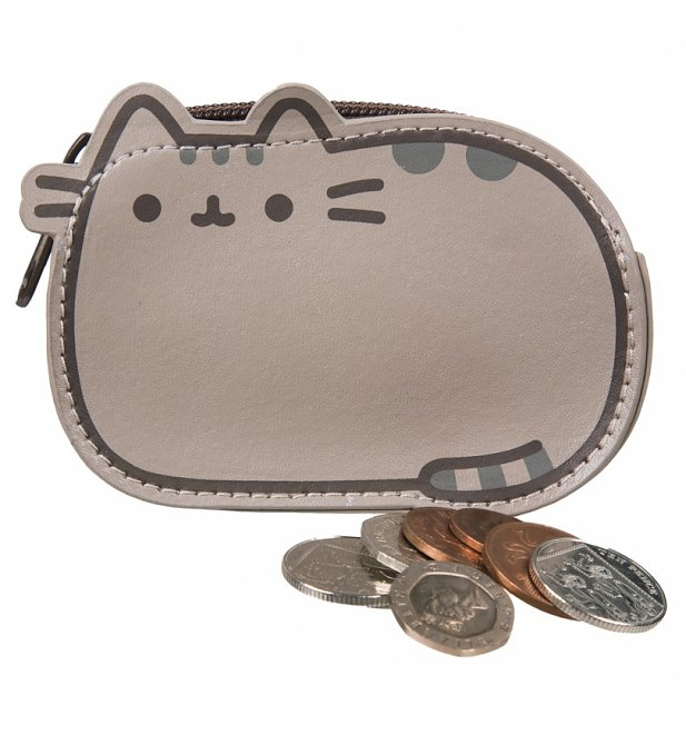 Pusheen Shaped Purse