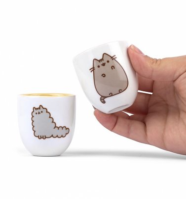 Pusheen and Stormy Set of 2 Egg Cups