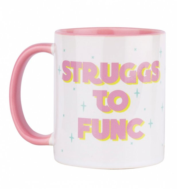 Queer Eye Inspired Struggs To Func Pink Handle Mug