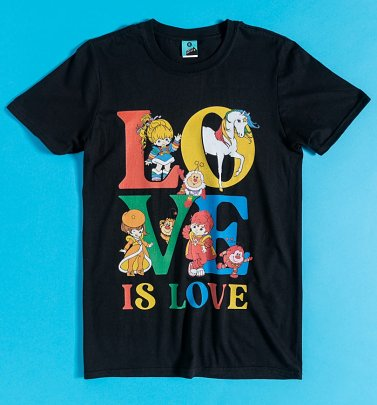 Rainbow Brite Love Is Love Pride Charity T-Shirt