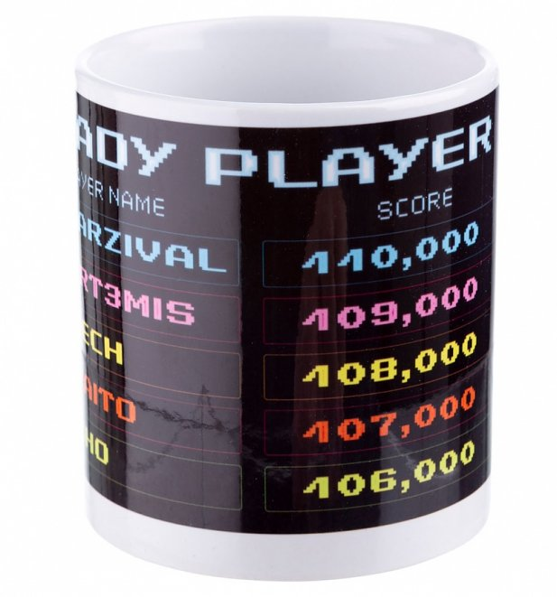 Ready Player One High Score Mug