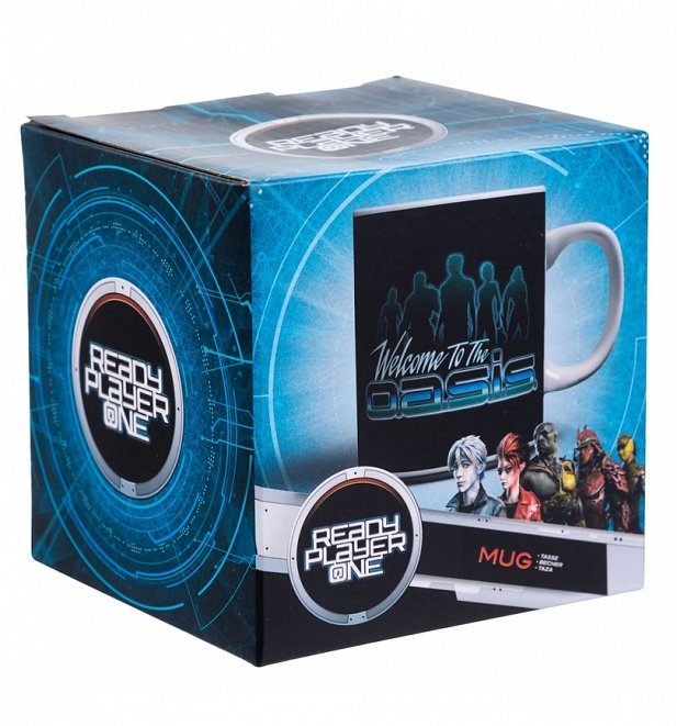Ready Player One Welcome To The Oasis Leaderboard Mug
