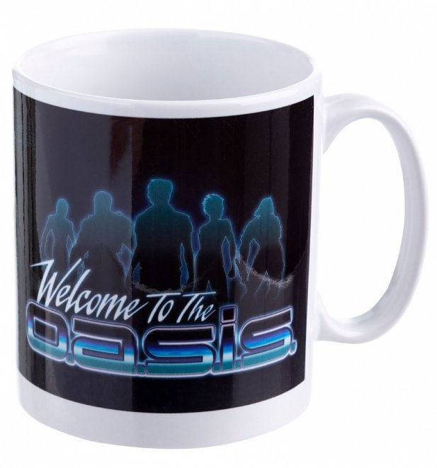 Ready Player One Welcome To The Oasis Mug