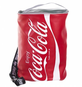 Red Coca-Cola Coke Can Backpack from Hype