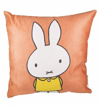 Red Miffy Filled Cushion