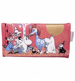 Red Moomins Scene Purse