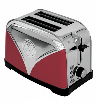Red Volkswagen Campervan Toaster