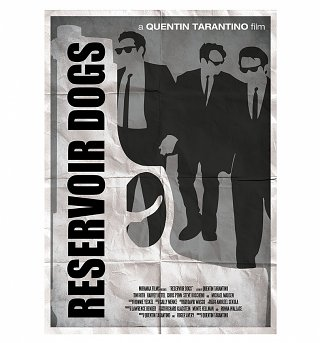 "Reservoir Dogs 11.7 x 16.5"" Art Print"