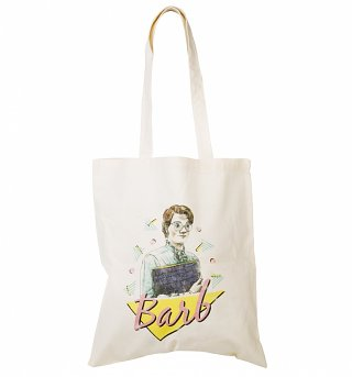 Retro Barb Stranger Things Inspired Tote Bag