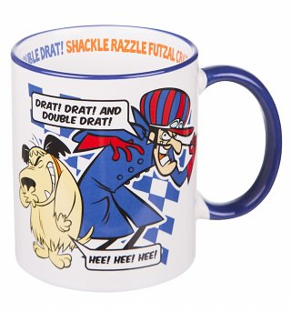 Retro Dastardly And Muttley Wacky Races Mug