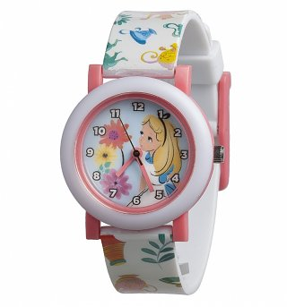 Retro Disney Alice In Wonderland Analogue Watch