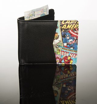 Retro Marvel Comics Outside Print Wallet