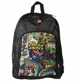 Retro Marvel Comics Student Backpack