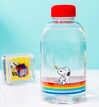 Retro Peanuts Water Bottle