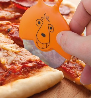 Retro Space Chopper Pizza Cutter