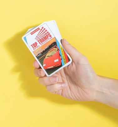 Retro Sports Cars Top Trumps Card Game