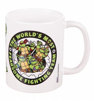 Retro Teenage Mutant Ninja Turtles Mug