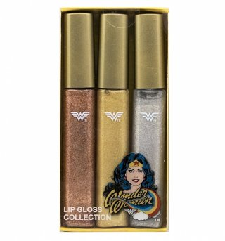 Retro Wonder Woman Lip Gloss Set