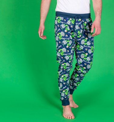 Rick and Morty Cuffed Loungepants