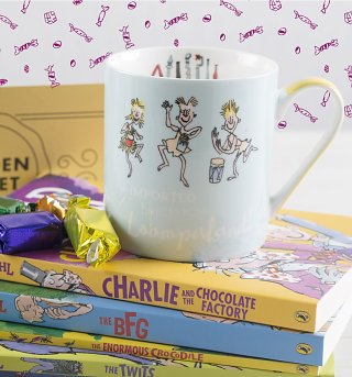 Roald Dahl Charlie And The Chocolate Factory Boxed China Mug
