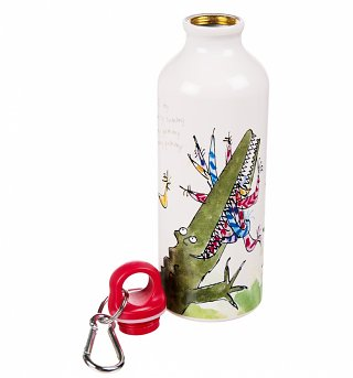 Roald Dahl Enormous Crocodile Aluminium Water Bottle