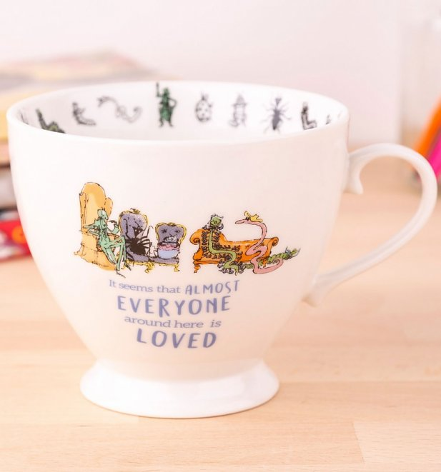 Roald Dahl James And The Giant Peach Footed China Mug