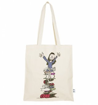Roald Dahl Matilda What Do You Want A Flaming Book For Premium Tote Bag