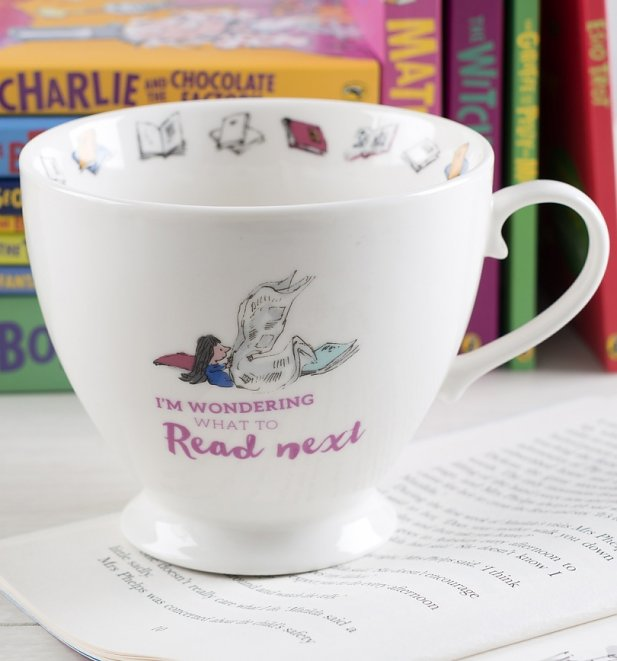 Matilda What To Read Next Footed China Mug