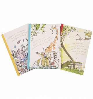 Roald Dahl Set Of 3 Exercise Books