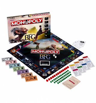 Roald Dahl The BFG Monopoly Game Set