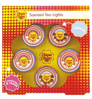 Scented Chupa Chups Tea Lights