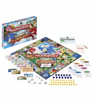 Sega Sonic Boom Monopoly Game Set