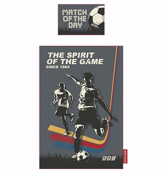 Single Match Of The Day Spirit Of The Game Duvet Cover Set from BBC Worldwide