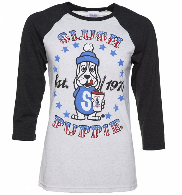 Slush Puppie Established 1970 Raglan Baseball T-Shirt