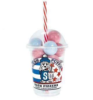 Slush Puppie Cherry & Blue Raspberry Bath Fizzers Cup