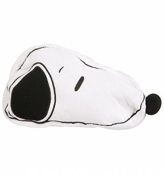 Snoopy Shaped Plush Pencil Case