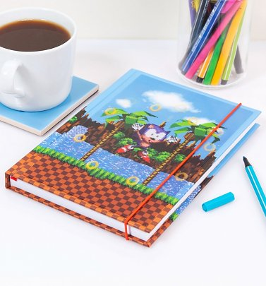 Sonic The Hedgehog A5 Lenticular Notebook