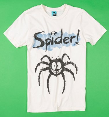 Spider Ecru T-Shirt