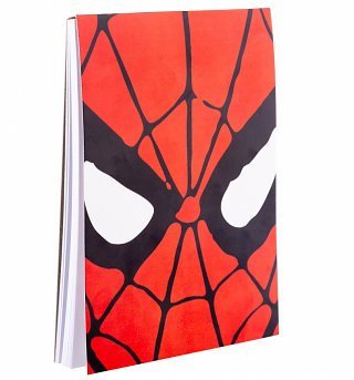 Spider-Man Face Magnetic Notepad