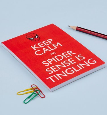 Spider-Man Keep Calm Magnetic Notepad