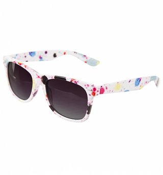 Splatter Way Farer Sunglasses from Jeepers Peepers