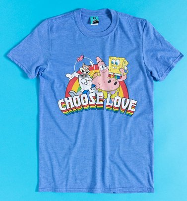 SpongeBob SquarePants Choose Love Pride Charity T-Shirt