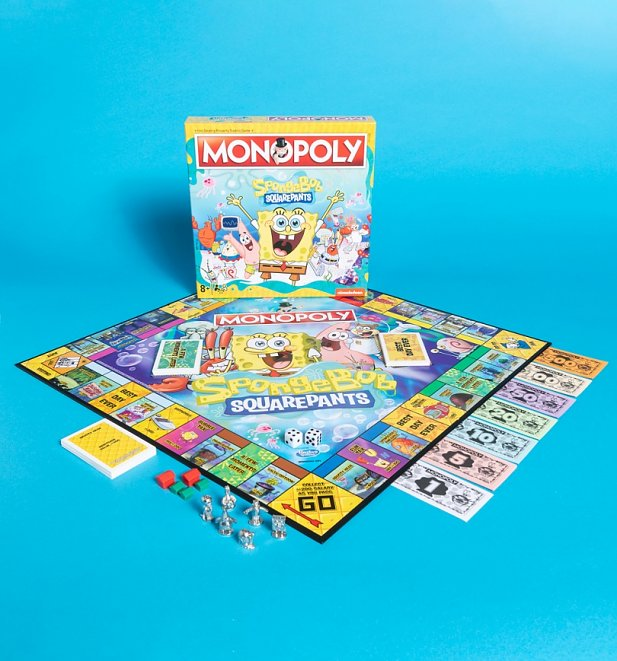 SpongeBob SquarePants Monopoly Game Set