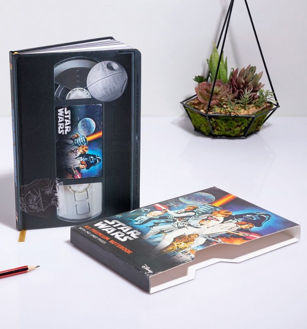 Star Wars A New Hope VHS Notebook